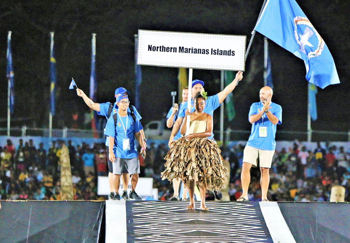 Organisers hope the rollout of coronavirus vaccines will assist with the staging of next year's rescheduled Pacific Mini Games ©PGC