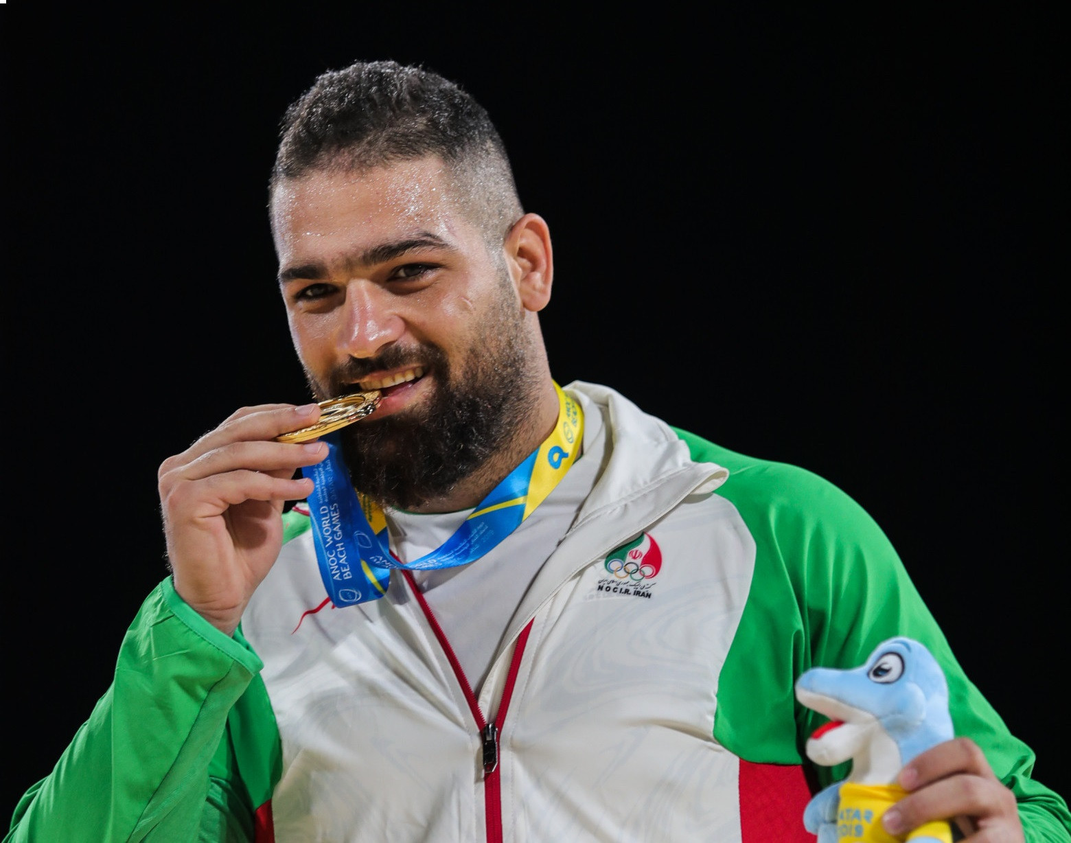Iranian wrestler Rahmani set to be stripped of ANOC World Beach Games gold medal for doping