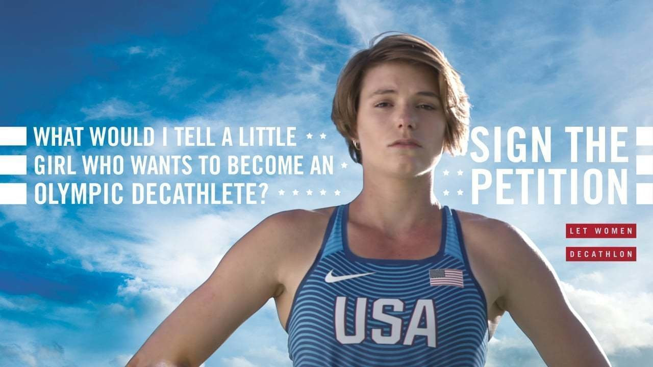 Campaign to include women's decathlon at Paris 2024 launched by US athlete