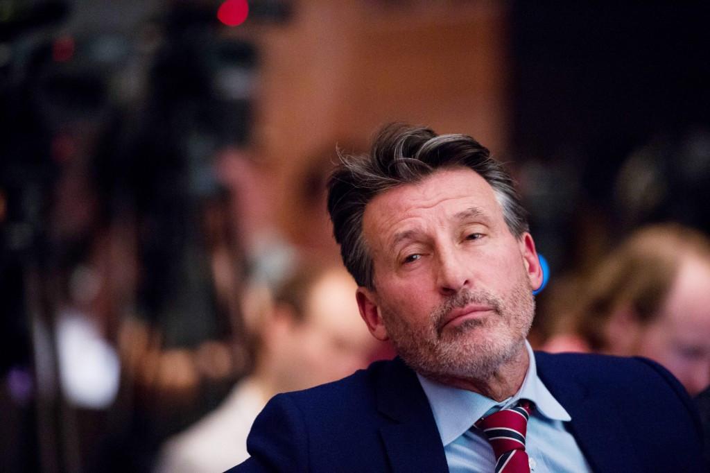 Sebastian Coe has faced increased pressure as IAAF President ©Getty Images
