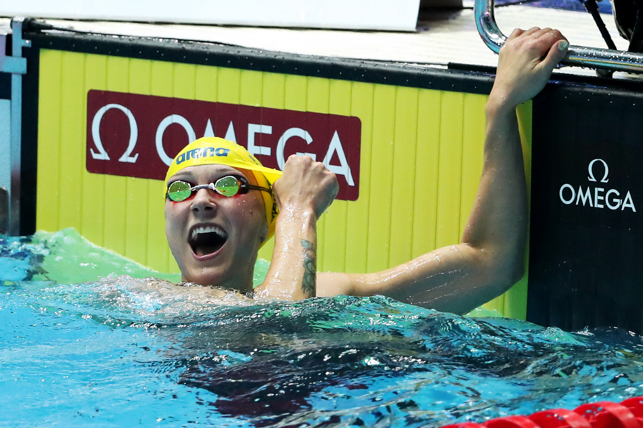 Swimmer Sjöström facing race to be fit for Tokyo 2020 after breaking elbow
