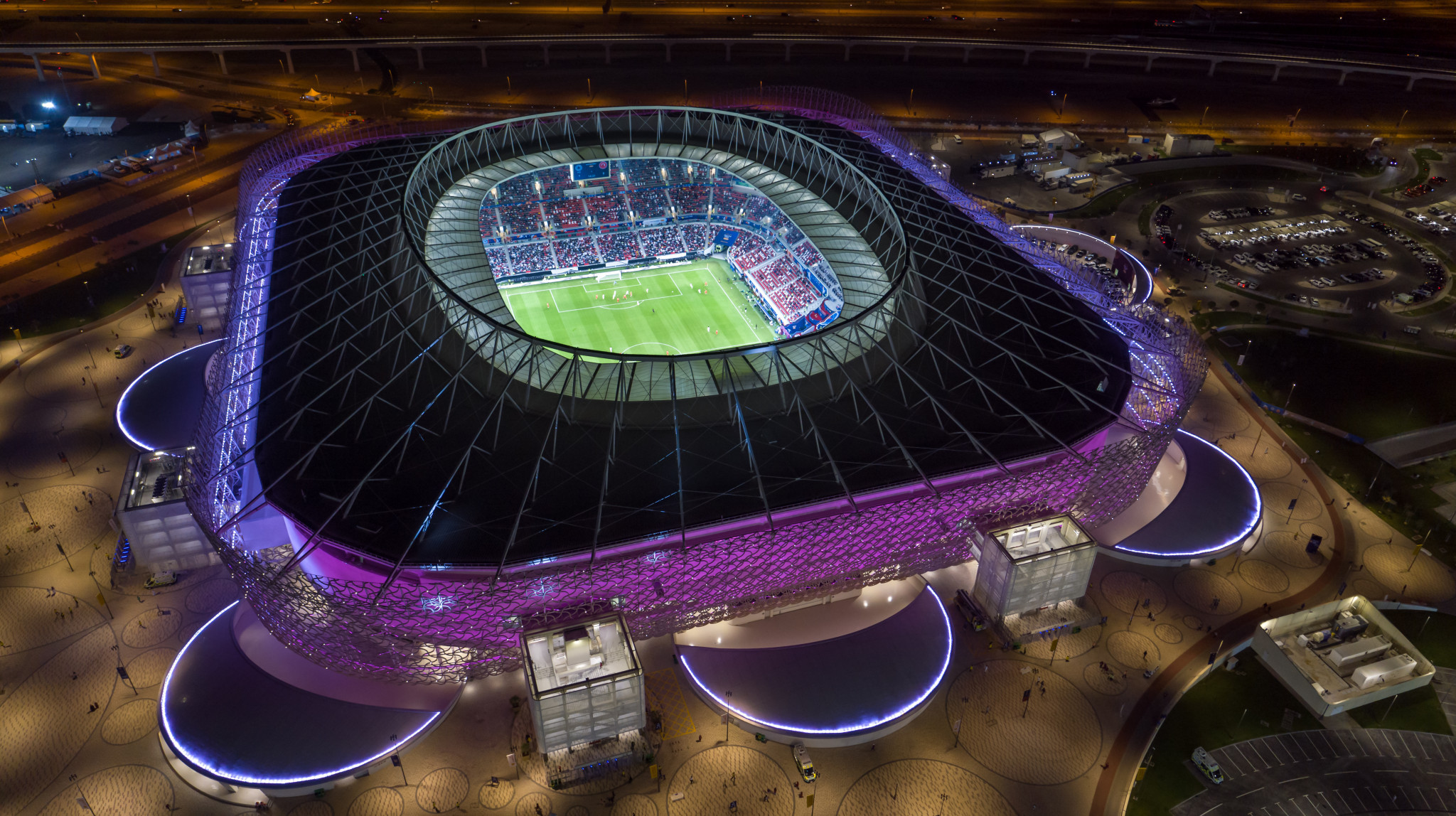Organisers of the 2022 FIFA World Cup in Qatar are confident of staging matches at 100 per cent capacity next year ©Getty Images