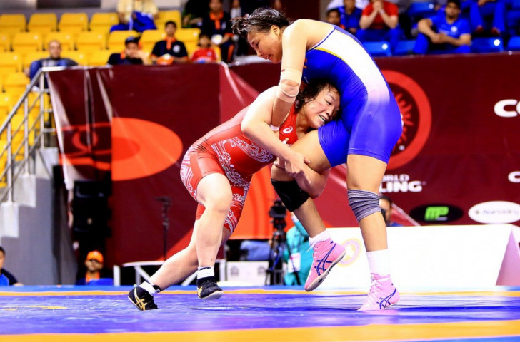 Suzuki drives Japan to team gold at Asian Wrestling Championships