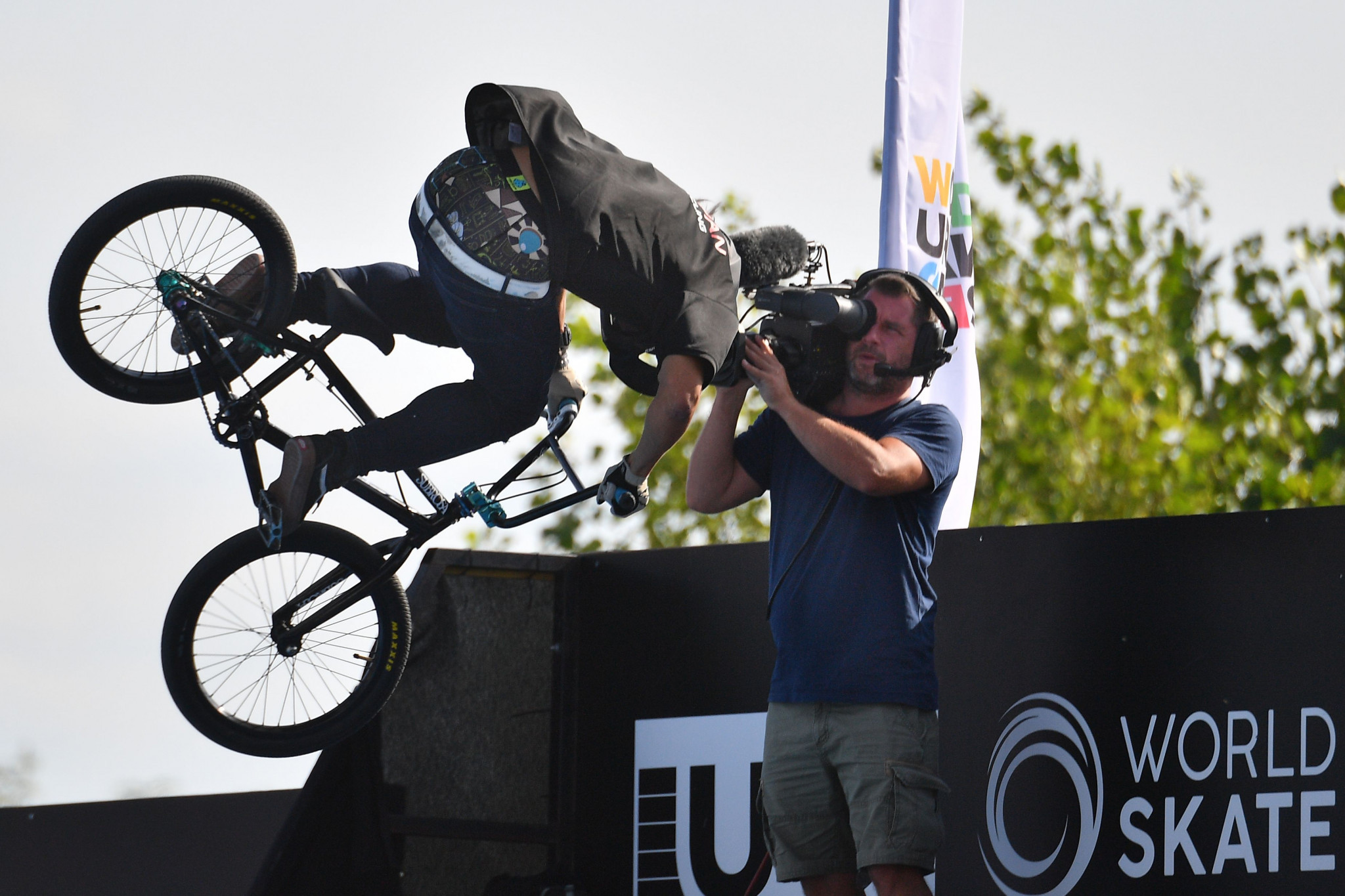 Hurricane Group specialises in urban sports, such as BMX Freestyle ©Getty Images