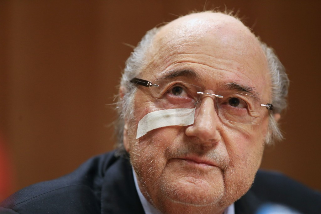 Sepp Blatter has now been banned from football for eight years