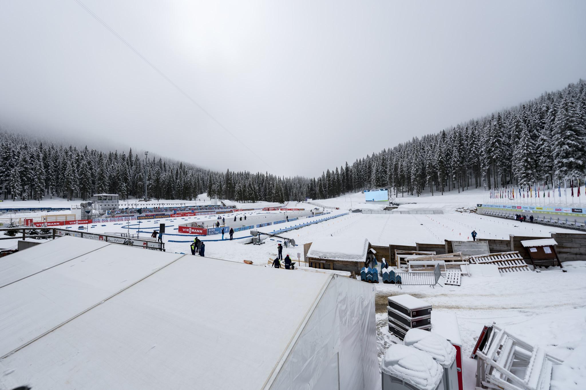 Biathlon World Championships set to begin in Pokljuka
