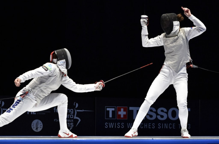 Italy's Arianna Errigo finished top of the overall rankings at women's foil Fencing World Cup in Gdańsk