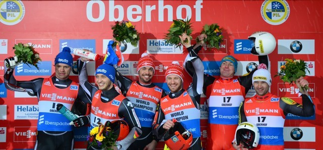 Wendl and Arlt edge closer to Luge World Cup record after doubles victory in Oberhof