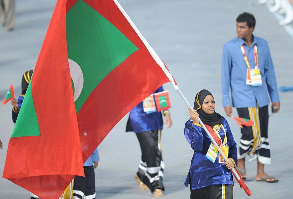 The Maldives has sent athletes to every Summer Olympic Games since Seoul 1988 ©Getty Images