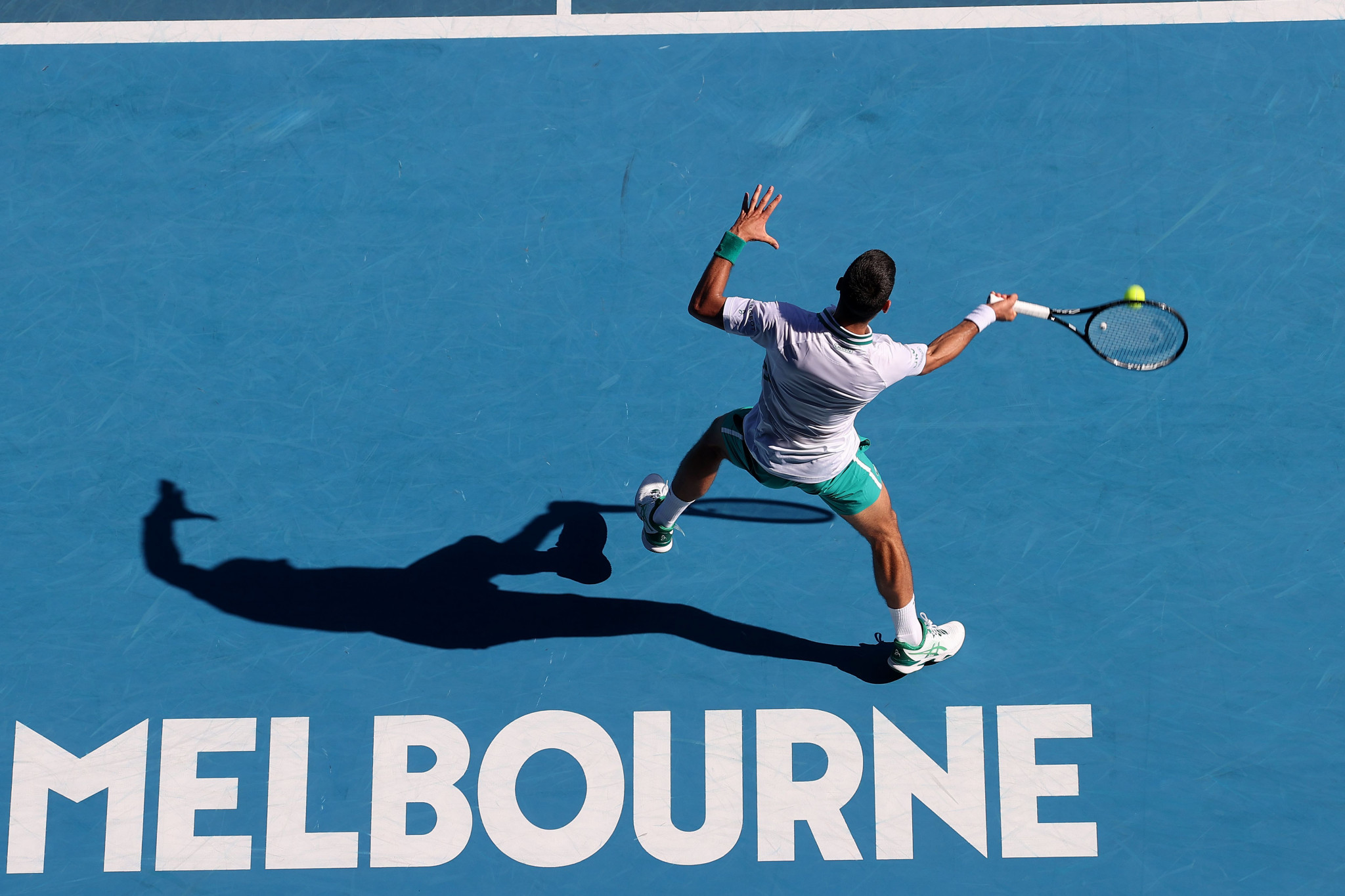 The Australian Open is one of the four major tennis tournaments that make up the Grand Slam Board ©Getty Images