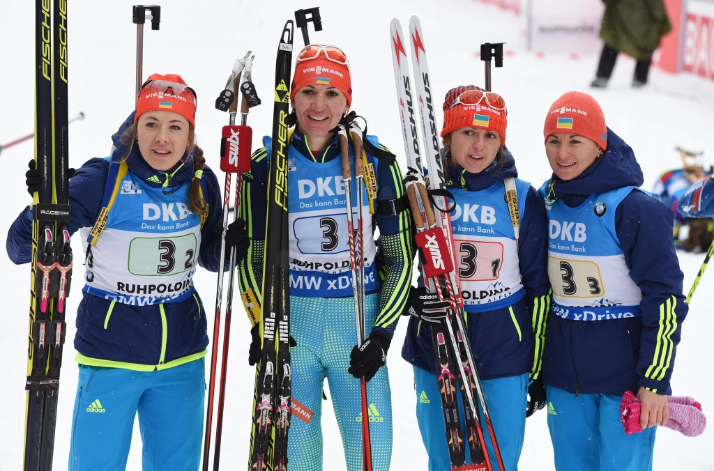 Ukraine earn women's relay honours as fifth IBU World Cup draws to close in Ruhpolding