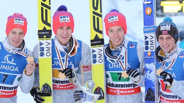 Norway earned a comfortable victory in the team competition ©FIS