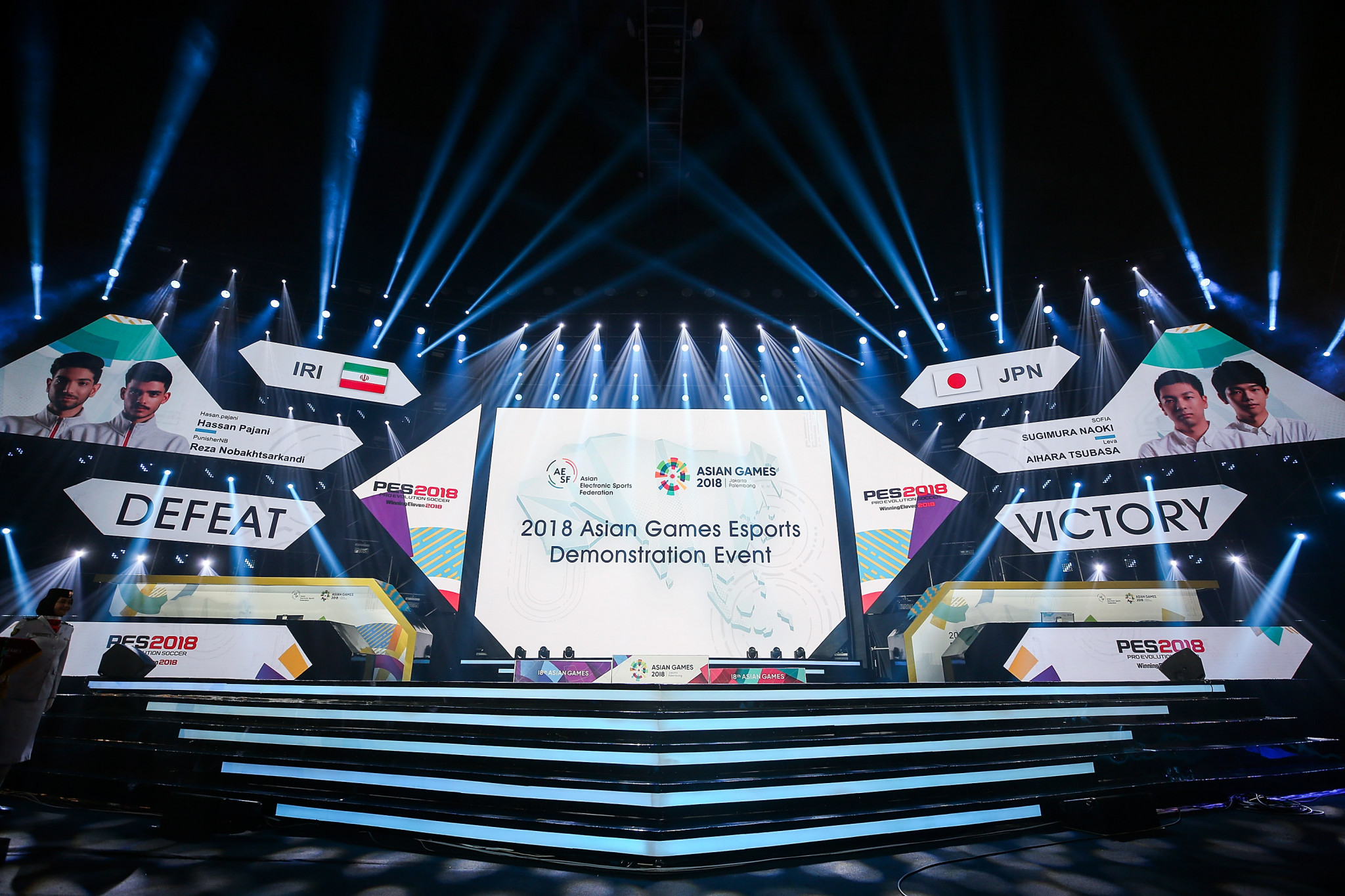 Esports was a demonstration event at the 2018 Asian Games in Jakarta and Palembang ©Getty Images