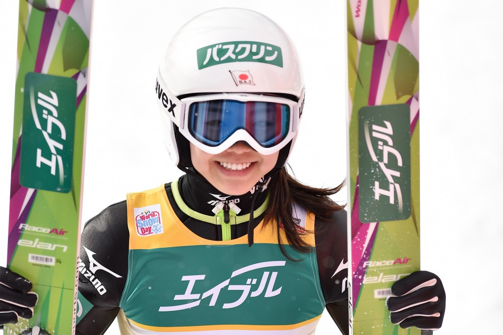 Sara Takanashi earned back-to-back wins in Sapporo