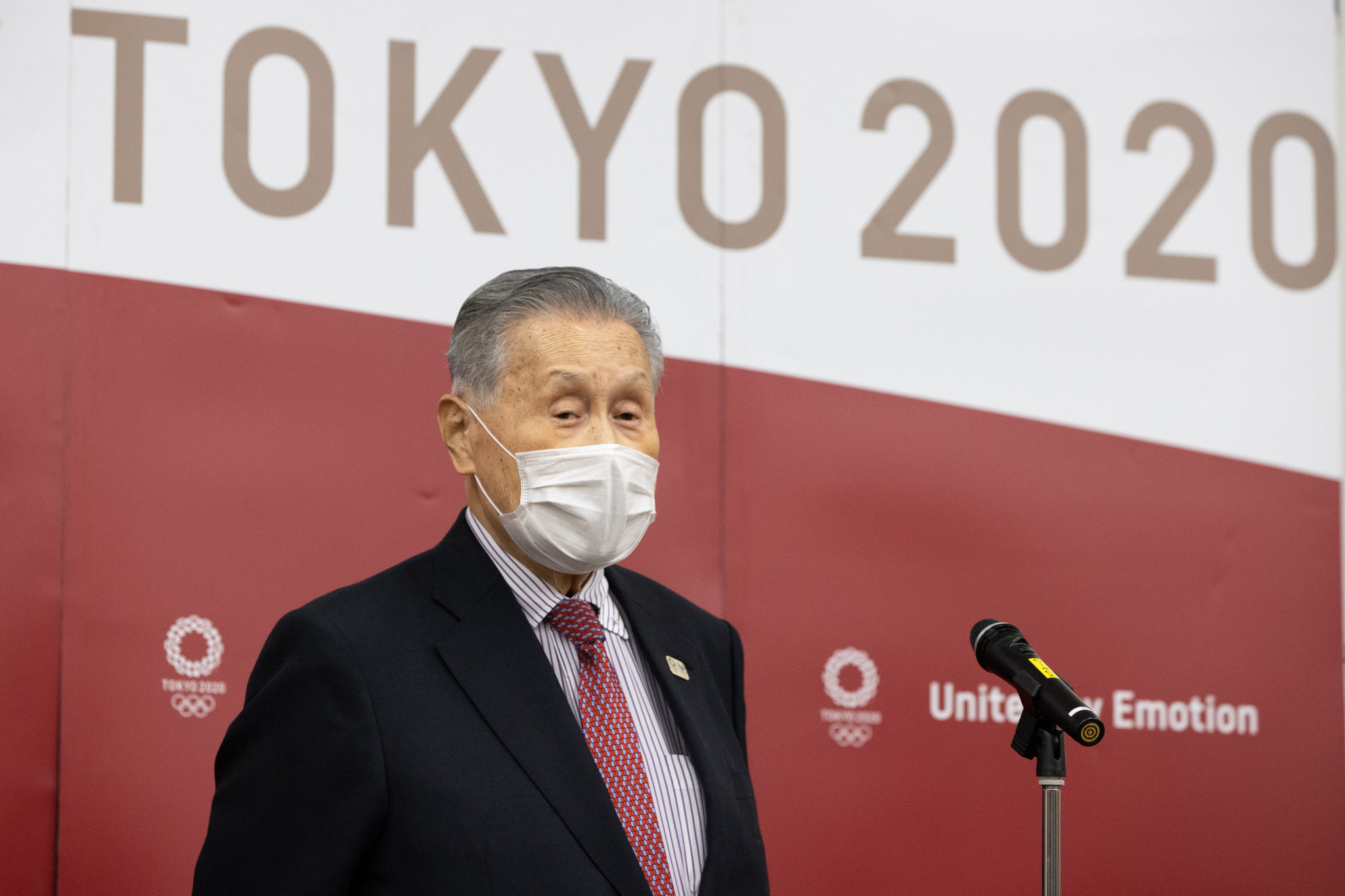 Yoshirō Mori is expected to step down from his role as Tokyo 2020 President ©Getty Images