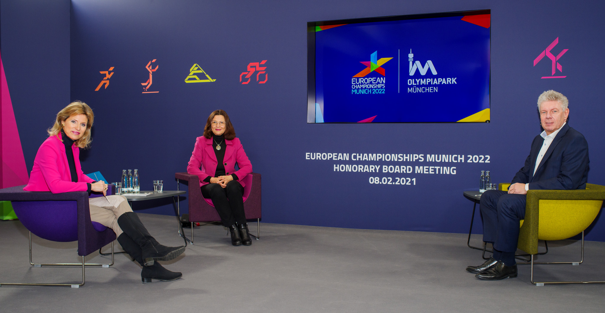 European Championships in 2022 to be highlight of Munich 1972 Golden Jubilee celebrations, promises Lord Mayor