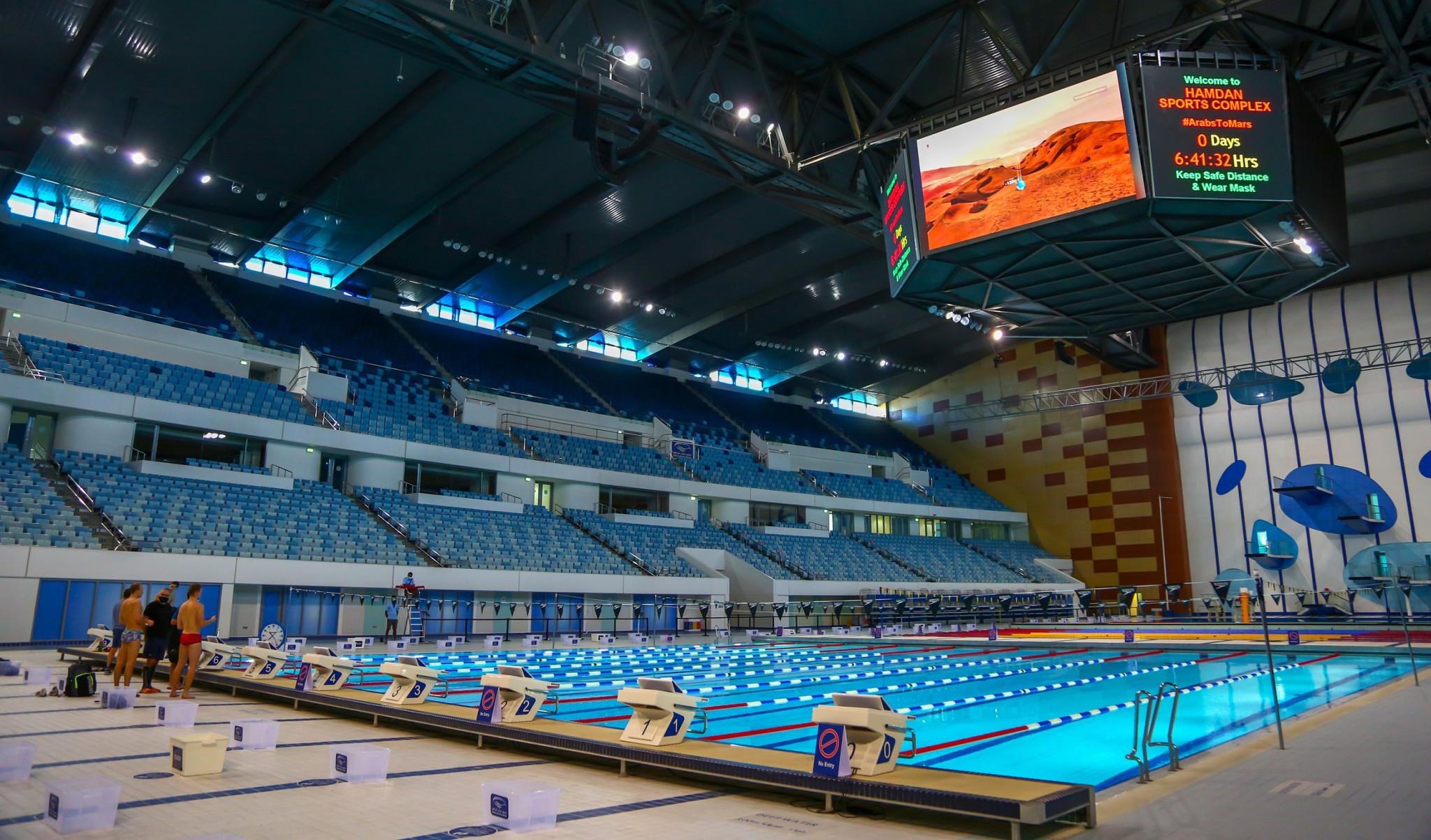 Sportovní komplex Hamdan je považován za jedno z největších multi-sportovních zařízení na světě © DSC