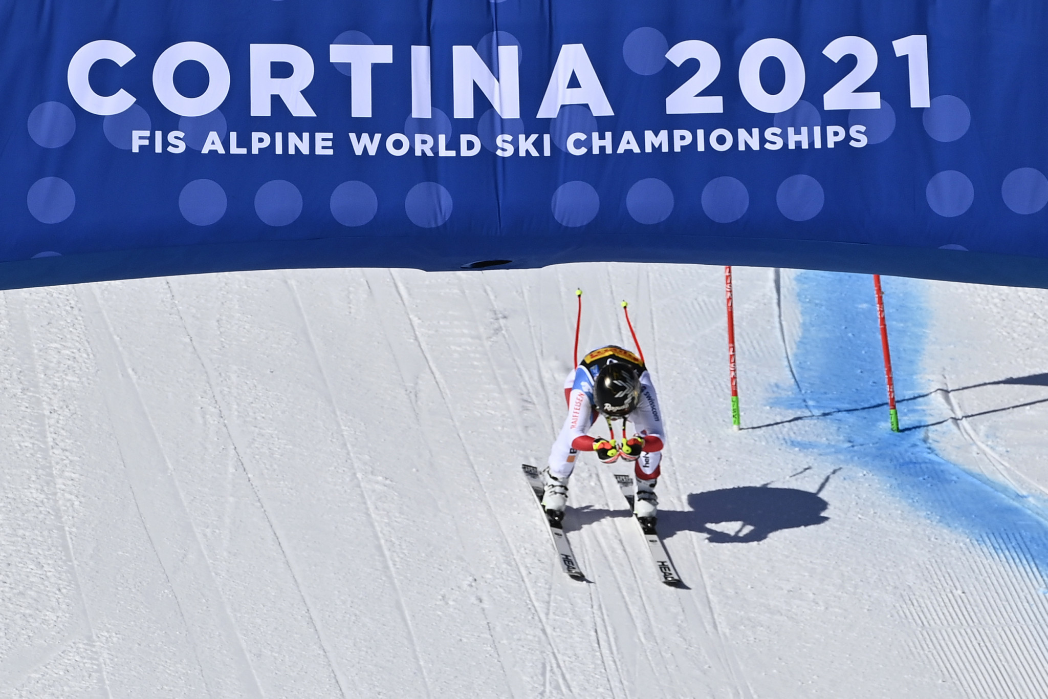 Favourite Gut-Behrami wins women's super-G as action begins at FIS Alpine World Ski Championships