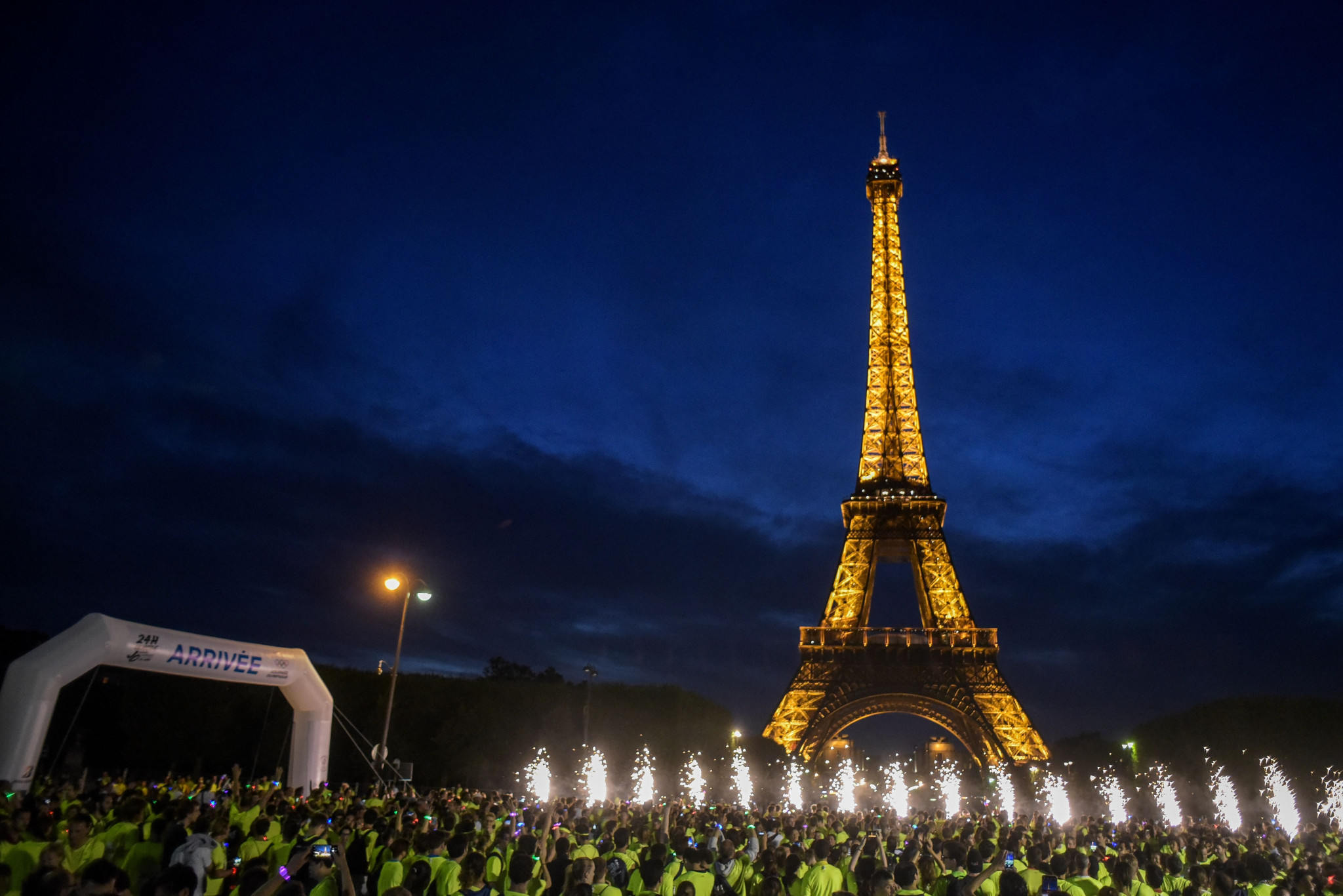 Eiffel Tower set for golden look prior to Paris 2024