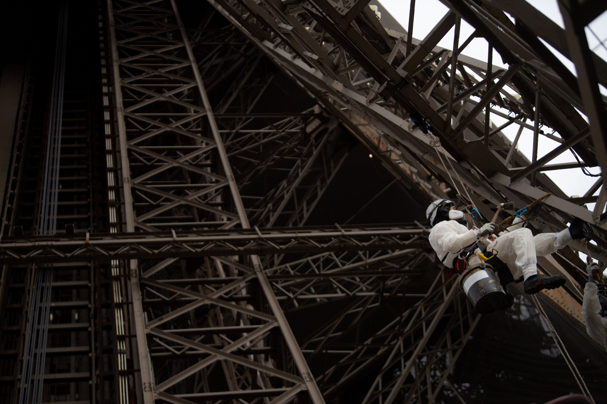The renovation of the Eiffel Tower is expected to be completed by 2022 ©Getty Images