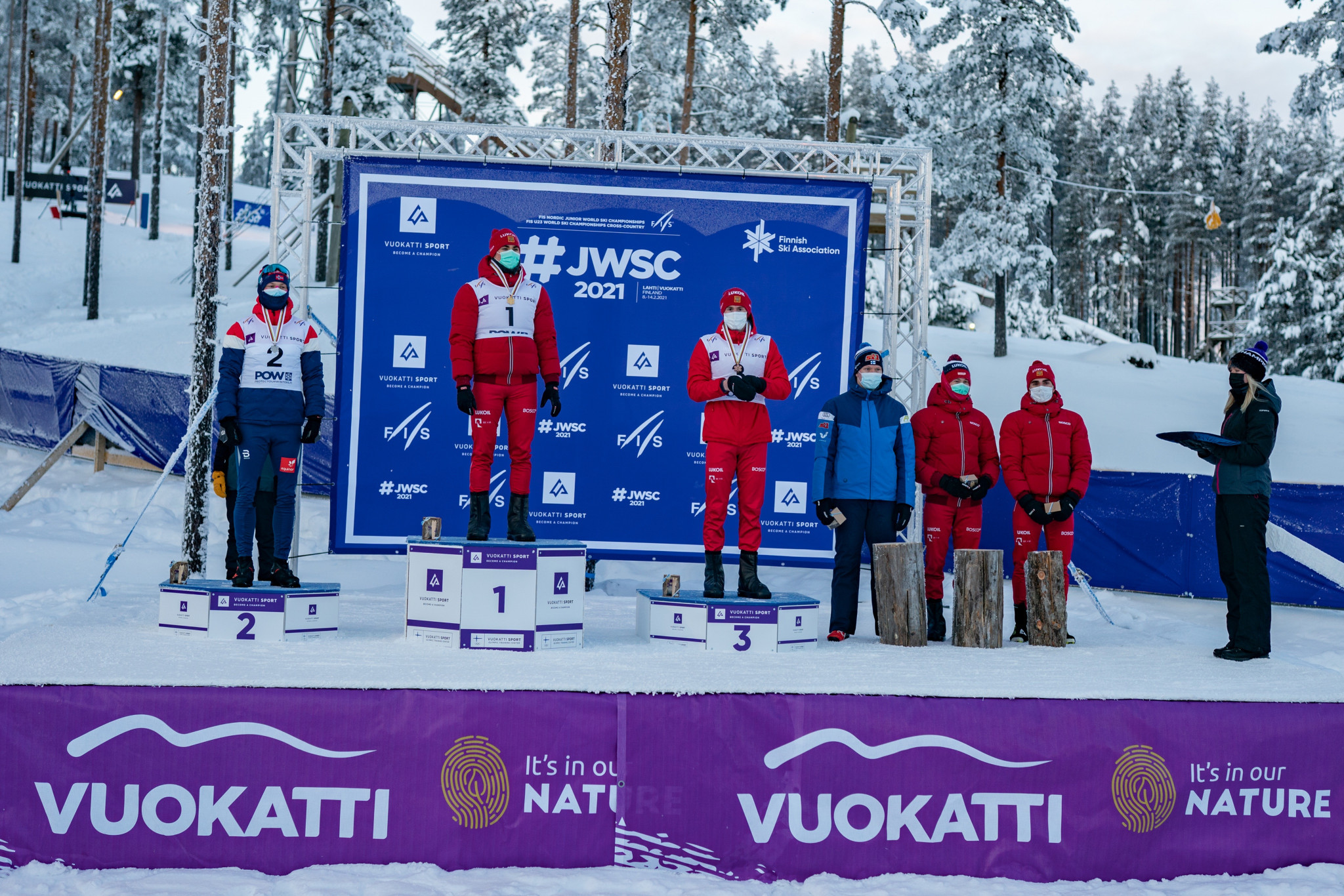 Russia dominate cross-country sprints at Nordic Junior World Ski Championships
