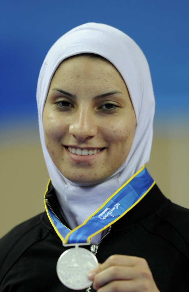 Raheleh Asemani qualified for Rio in Istanbul ©Getty Images