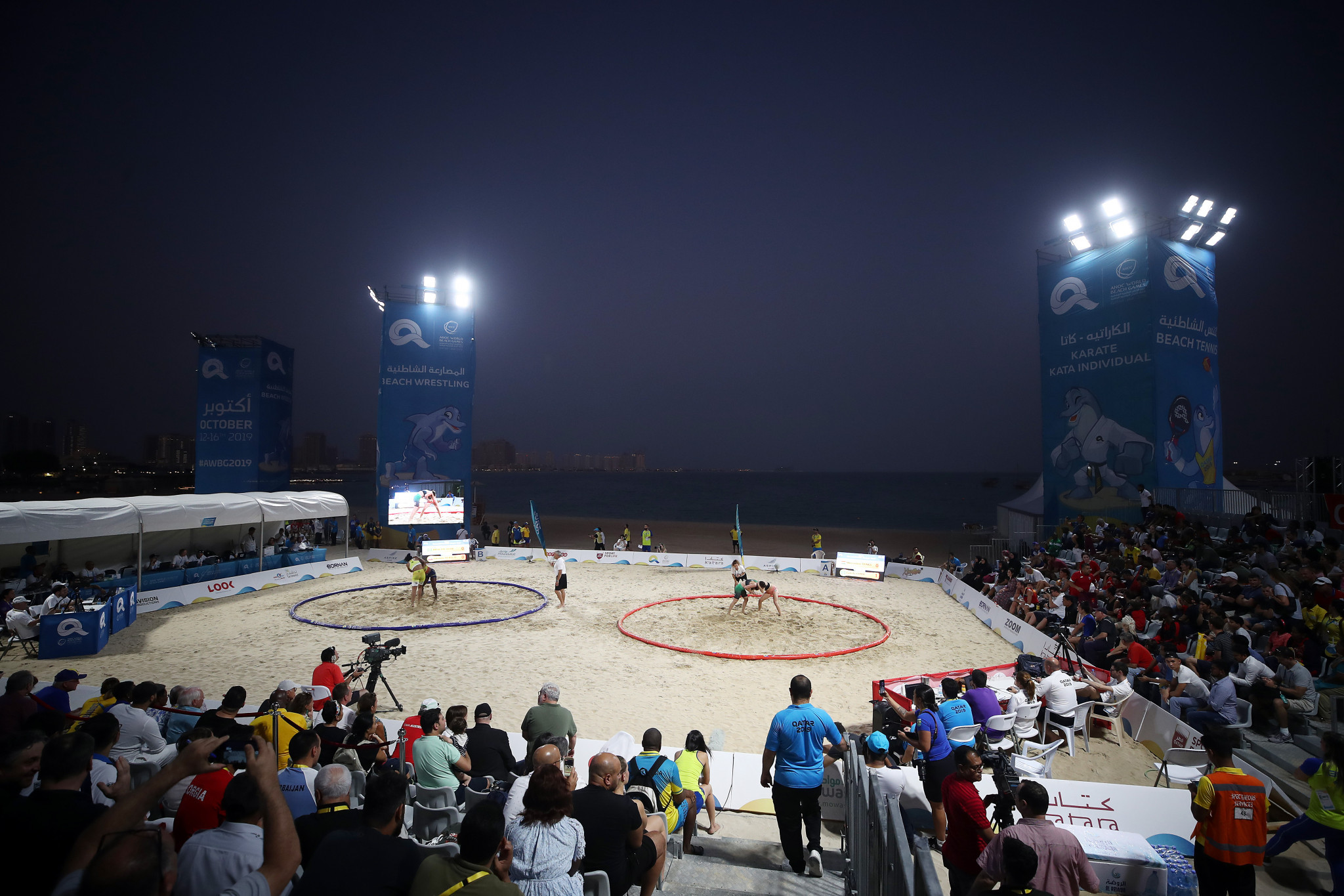 Two positive doping cases involved beach wrestlers at the ANOC World Beach Games ©ANOC