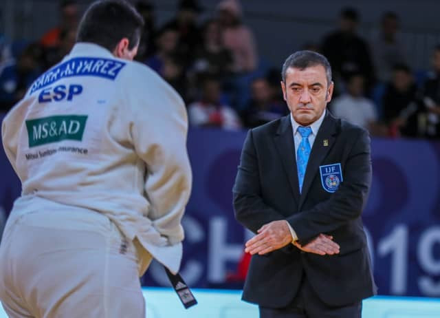 Nedim Bayat is set to be one of the referees for the Tokyo 2020 Paralympics ©IJF