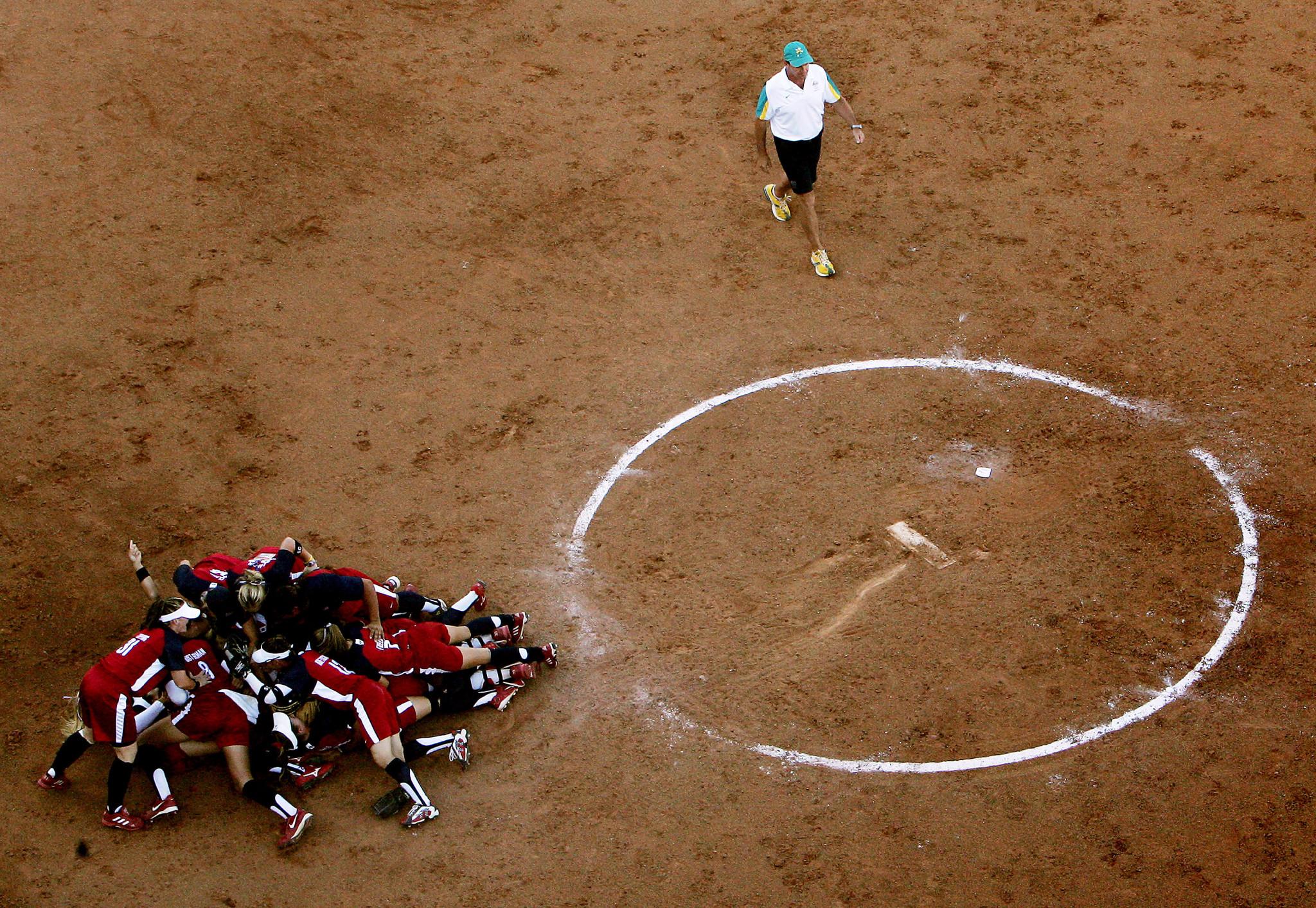 Getty Images ha ganado tres de los cuatro torneos olímpicos de softbol anteriores de los Estados Unidos.