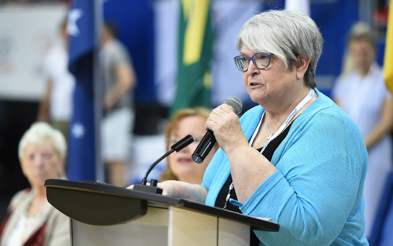 Kathy Newman has been elected President of Wheelchair Basketball Canada ©Wheelchair Basketball Canada