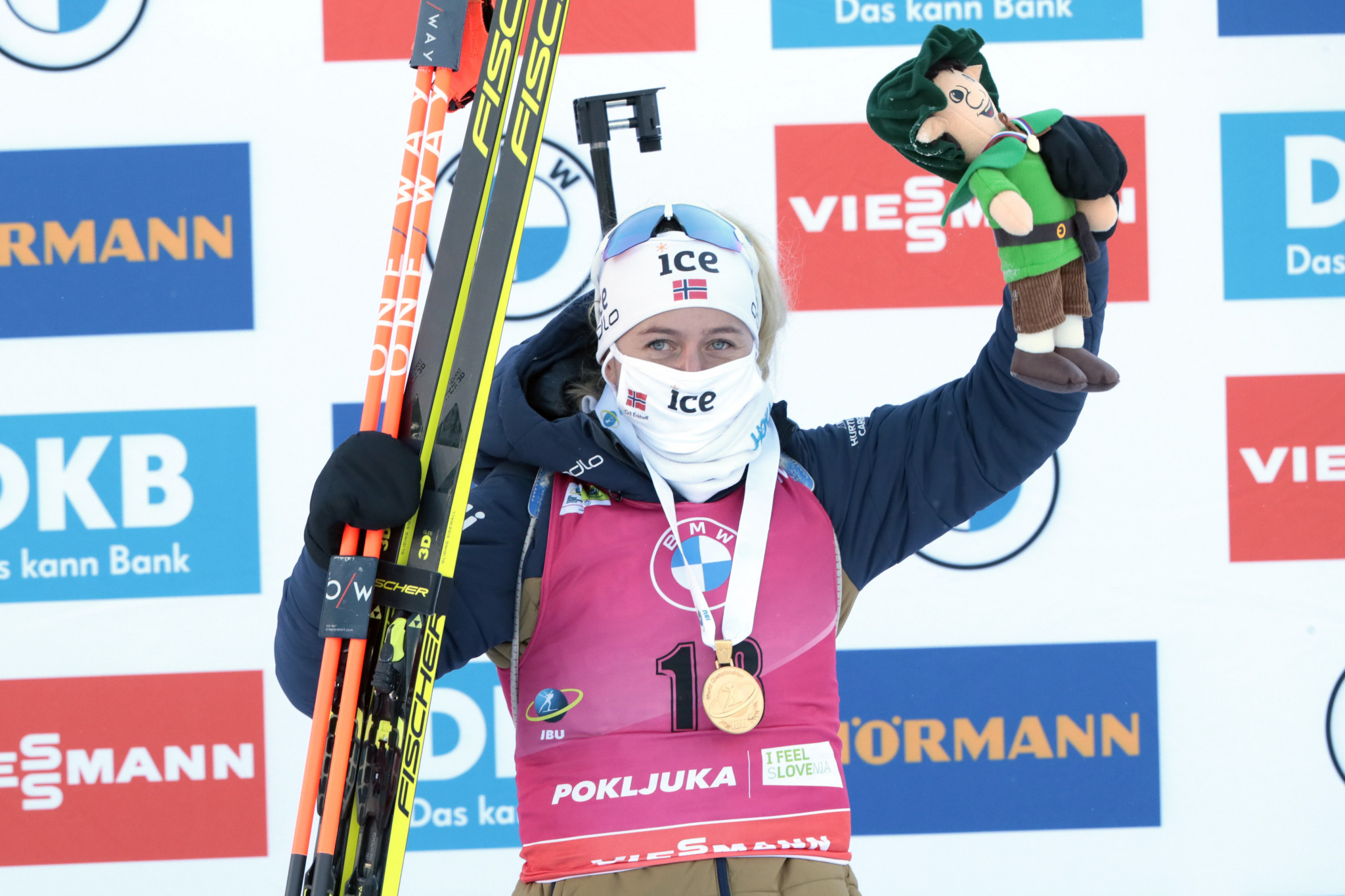 Eckhoff tops the podium again at IBU World Championships
