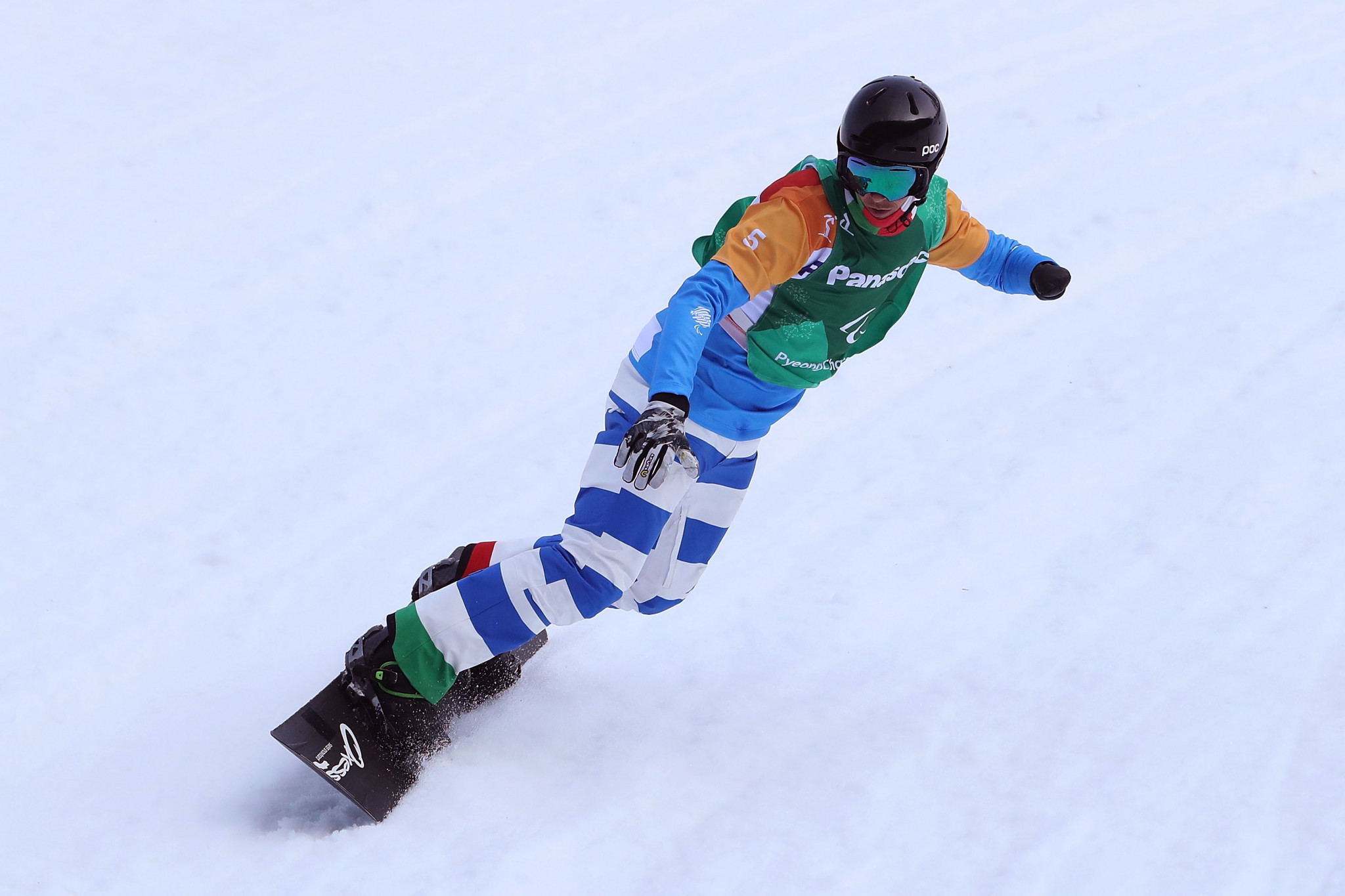 Luchini and Tudhope among winners at World Para Snowboard World Cup