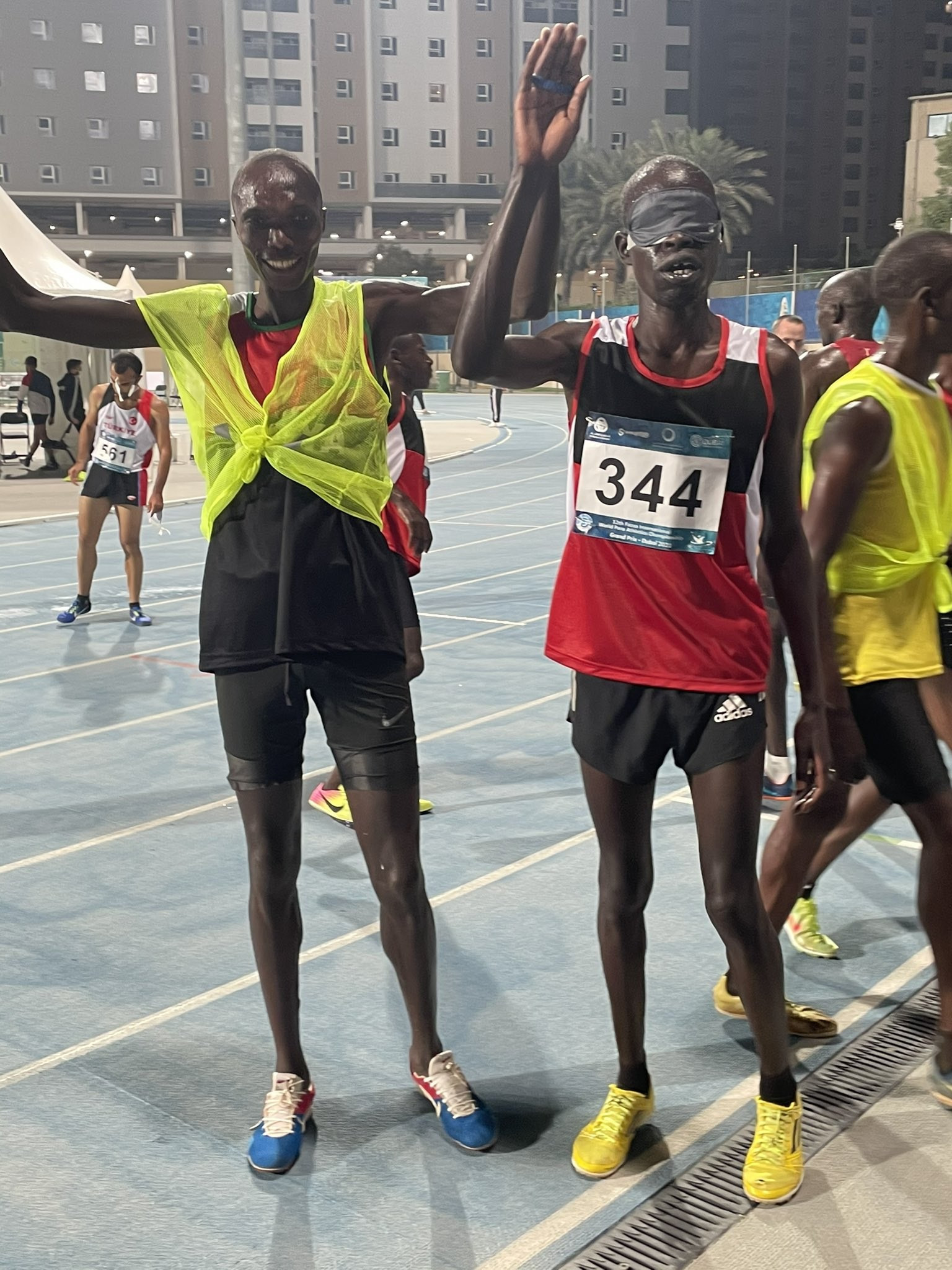 Kenya dominate 1500m and 5,000m races at World Para Athletics Grand Prix