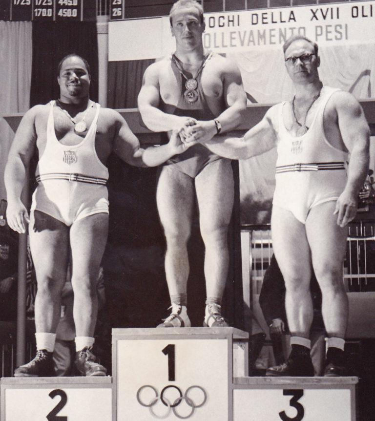 Yuri Vlasov won Olympic gold in 1960 ©Twitter