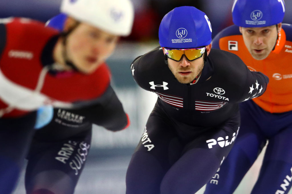 Mantia and Bowe star at ISU World Speed Skating Championships