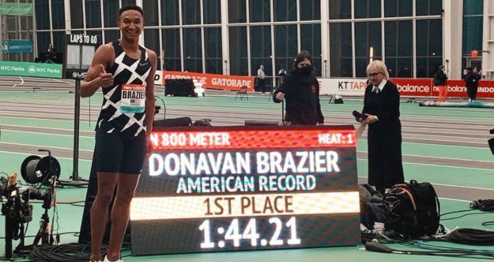 Brazier, Hoppel and Purrier set US records as New York hosts World Indoor Tour Gold meeting