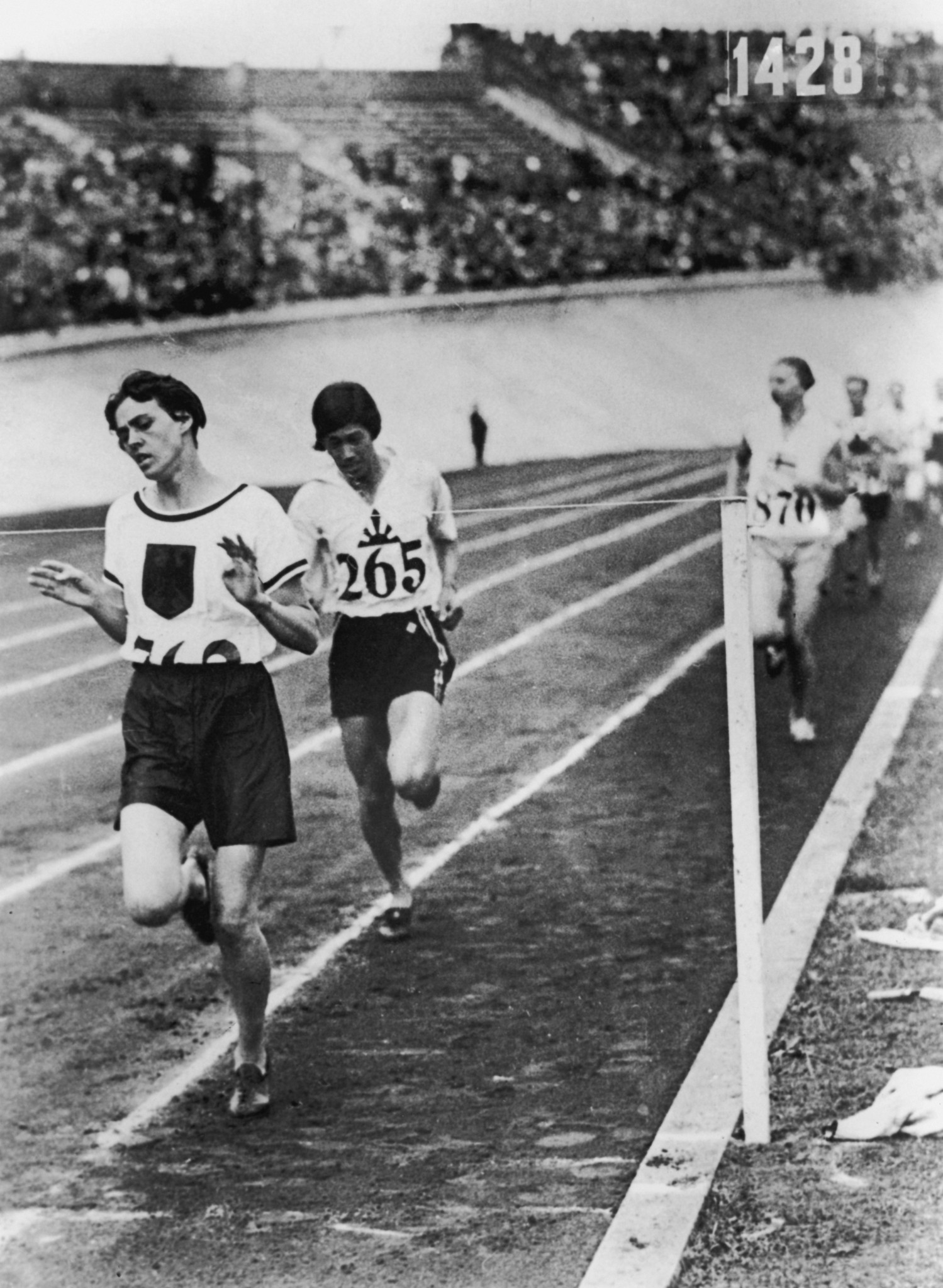Lina Radke was the first women's 800m Olympic champion, and set a world record in the process ©Getty Images