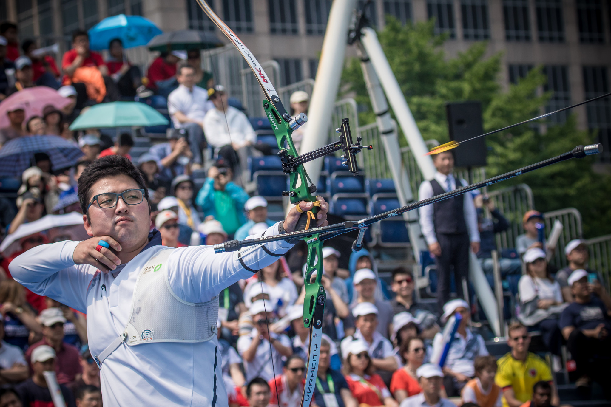 Last year's Archery World Cup season was cancelled due to the COVID-19 pandemic ©Getty Images