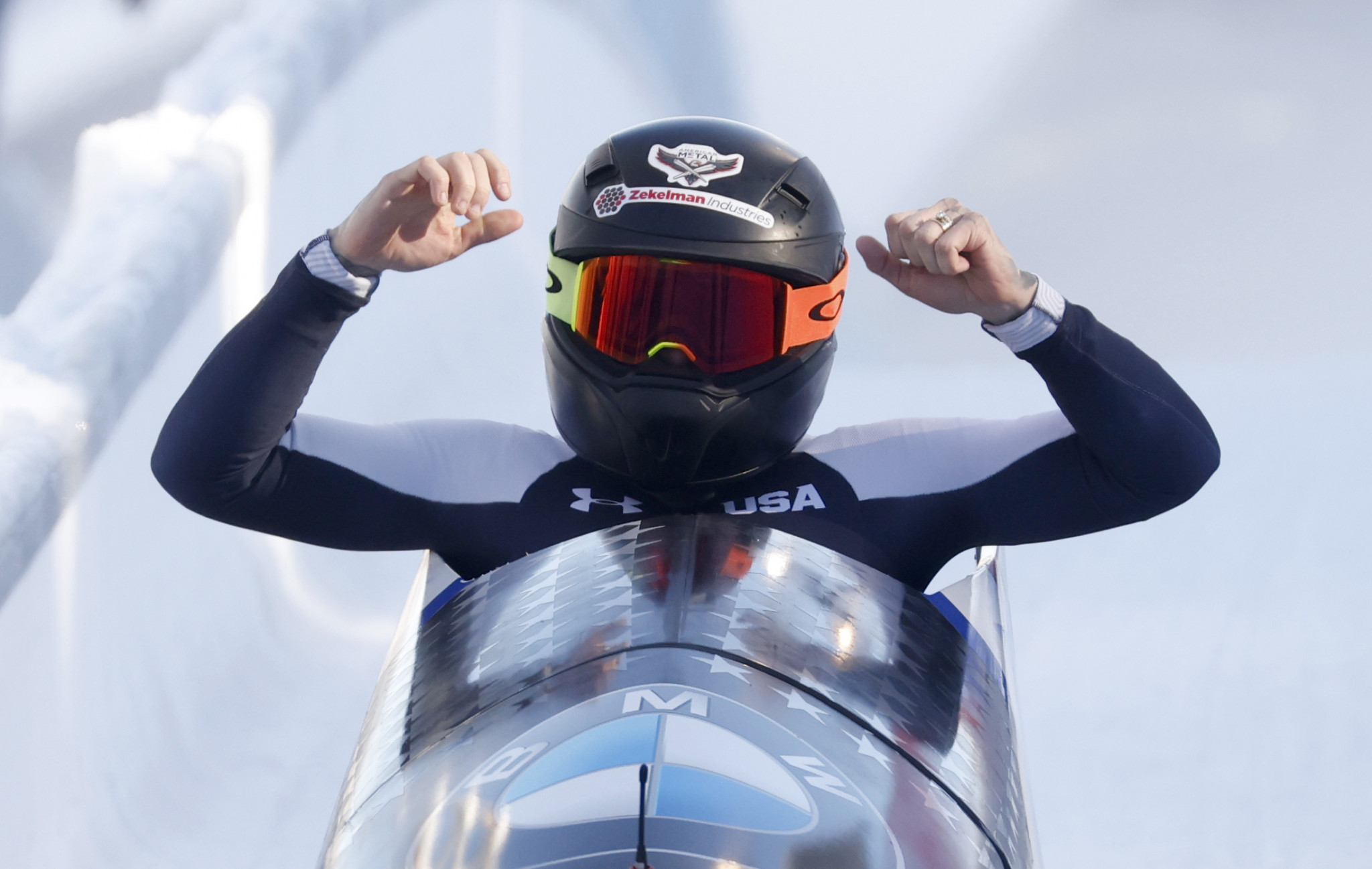 Humphries wins first women's monobob title at IBSF World Championships