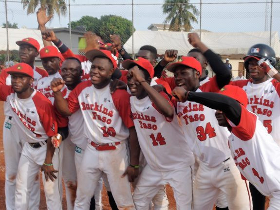 Burkina Faso won the West African Baseball Championship in 2019 ©WBSC