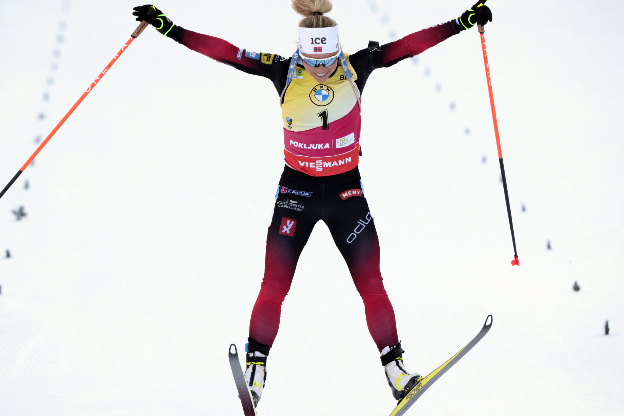 Eckhoff prevails in pursuit for third gold at IBU World Championships