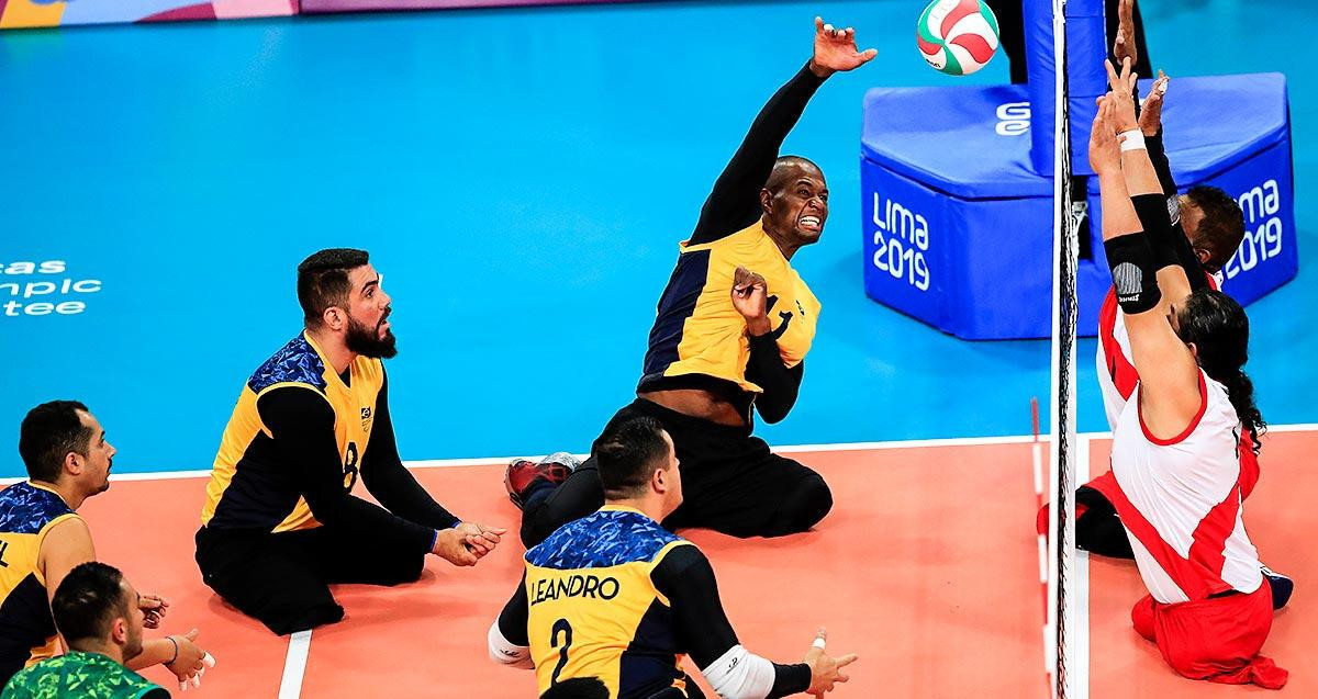 Brazil's men's sitting volleyball team qualified for Tokyo 2020 after winning the 2019 Parapan American Games in Lima ©Getty Images