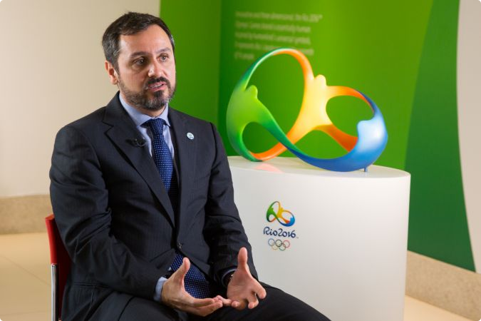 Andrei Rodrigues, the special safety secretary at Brazil's Ministry of Justice, has assured spectators, athletes and volunteers attending Rio 2016 that the country is prepared to deal with the threat of terrorist attacks on the host city ©Rio 2016/Gabriel