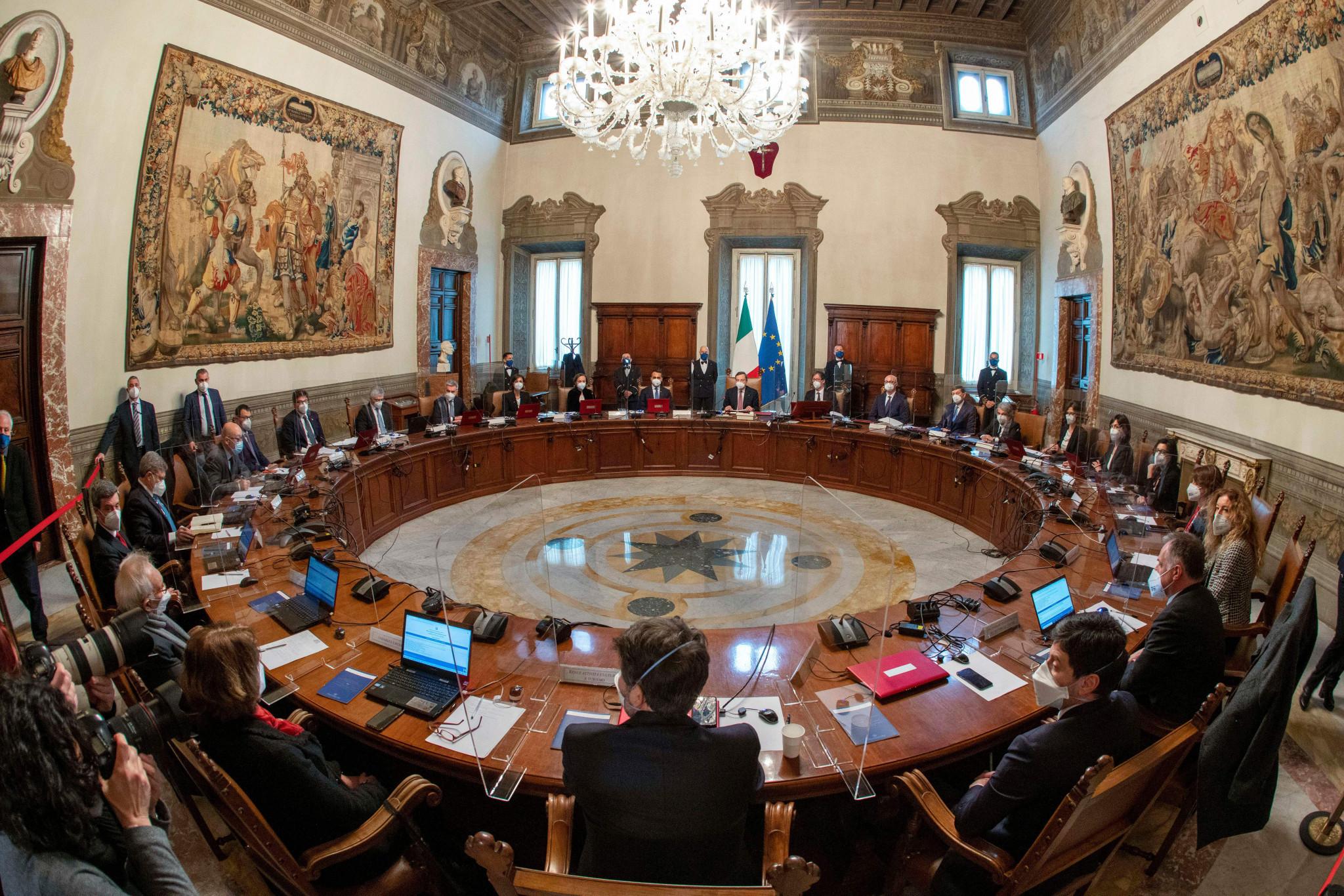 Il nuovo gabinetto è stato inaugurato ieri in Italia © Getty Images