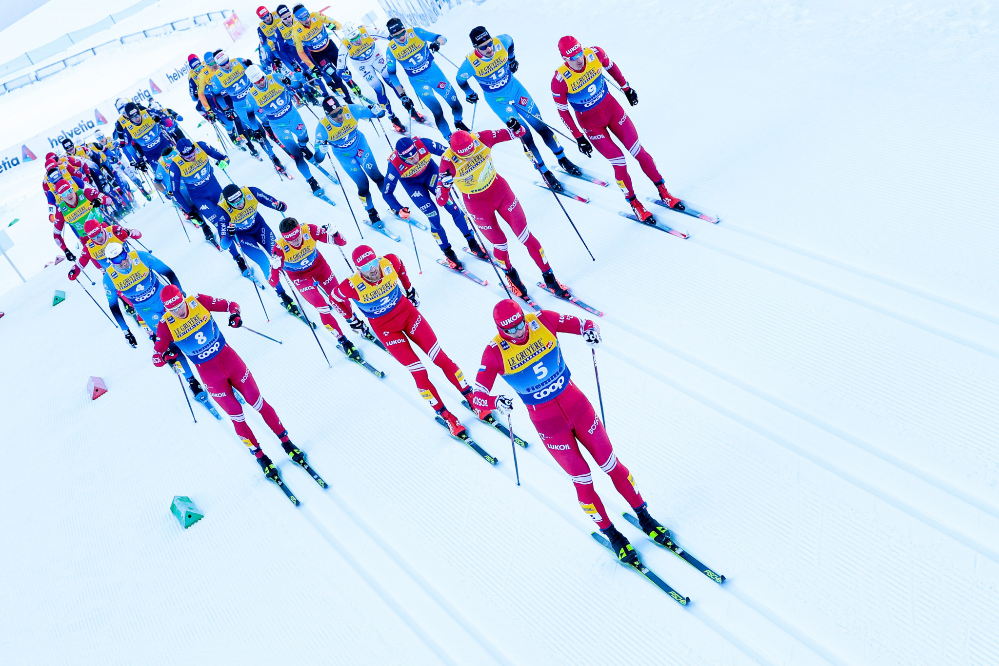 Discussions are taking place over whether the Nové Město World Cup races can be moved to March ©Getty Images