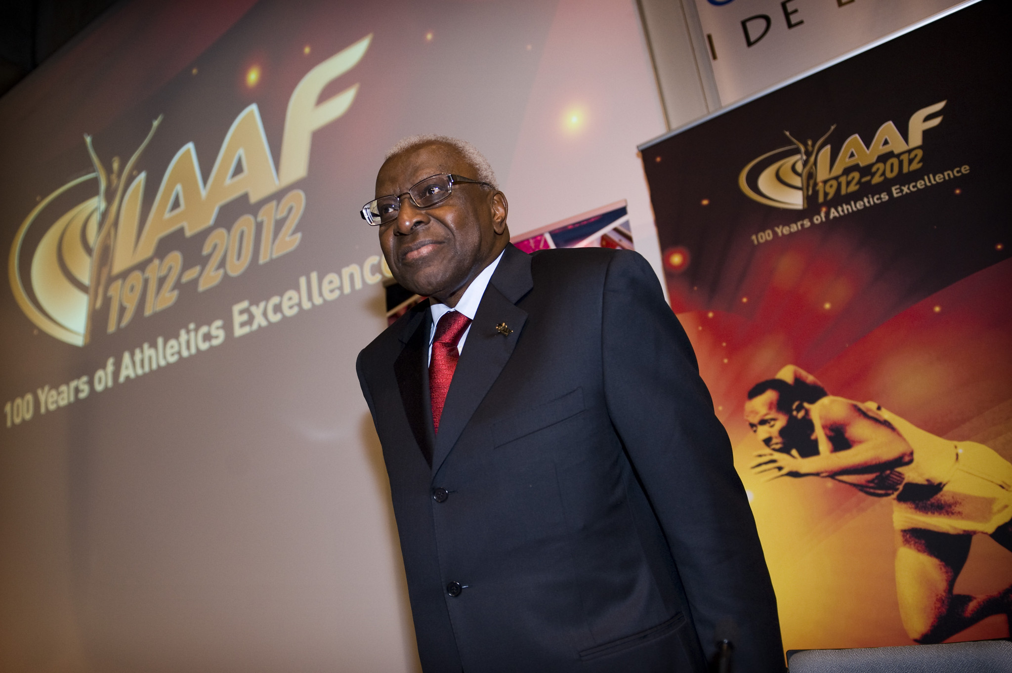 Lamine Diack led what is now World Athletics for 15 years ©Getty Images