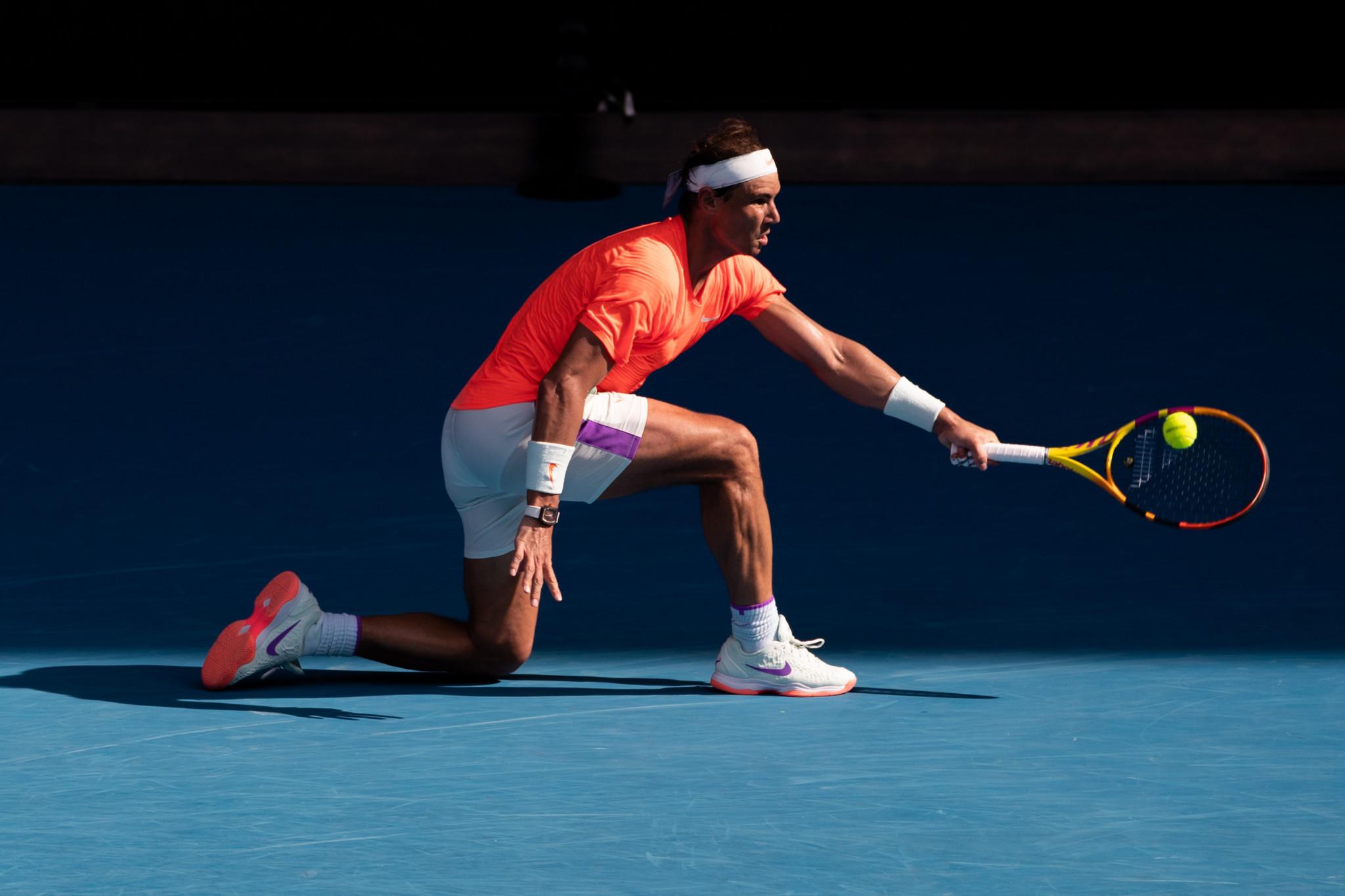 Nadal reaches 43rd Grand Slam quarter-final at Australian Open