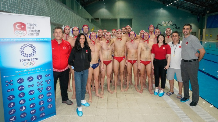 Turkey's water polo team had been hoping to qualify for Tokyo 2020 ©Turkish Water Polo Federation