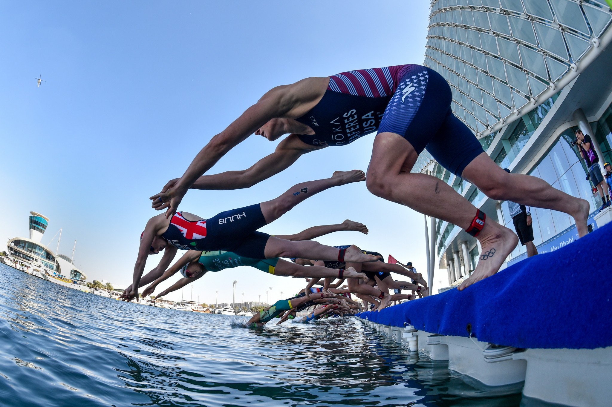 World Triathlon Championships event in Abu Dhabi postponed to November