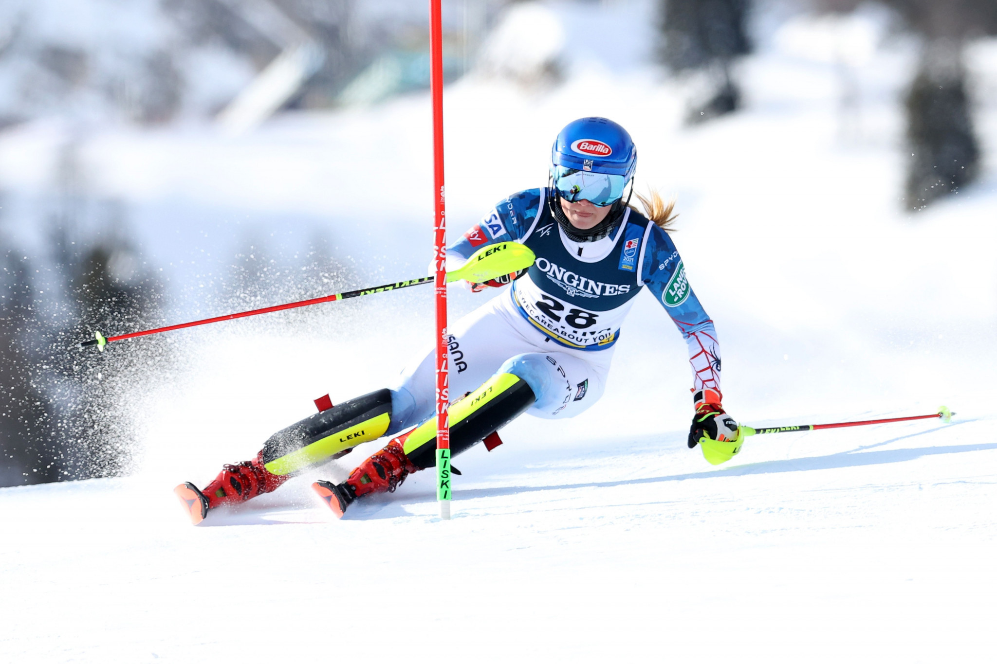 Mikaela Shiffrin earned her sixth title at the Alpine Ski World Championships ©Getty Images